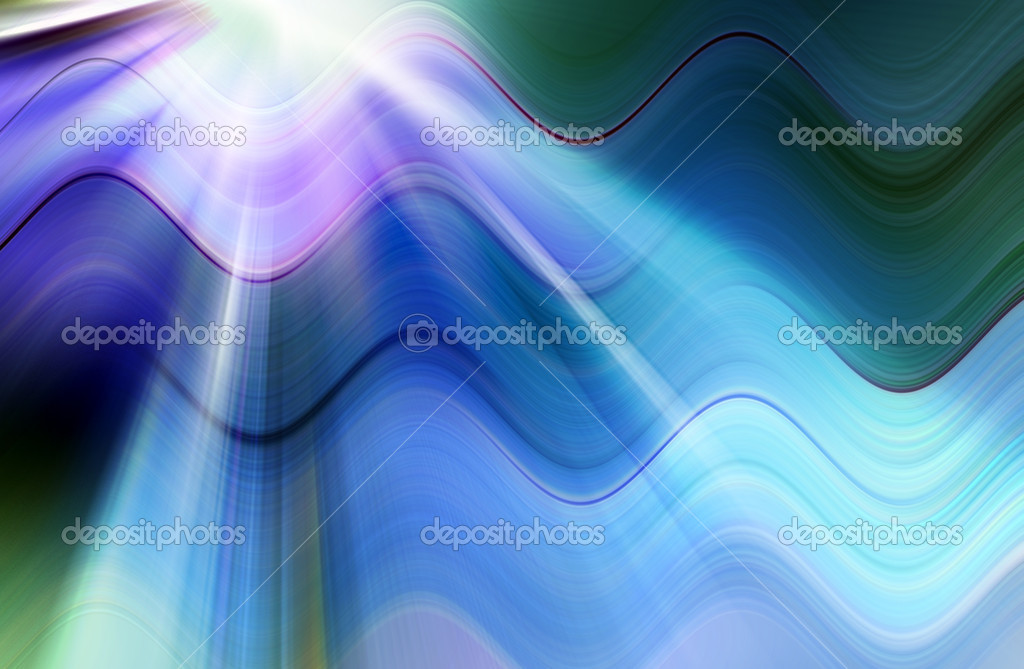 Abstract blue background representing speed and motion  Stockfoto #6837425