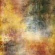 Art grunge background in yellow and orange tones - Stock Photo
