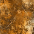 Art grunge background in orange and brown tones - Stock Photo