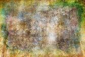 Art grunge pozadí v žluté a hnědé odstíny — Stock fotografie