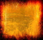 Art grunge background in yellow and orange tones — Stock Photo