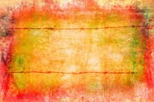 Art grunge background in yellow and orange tones — Stock Photo