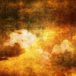 Art grunge clouds background — Foto Stock