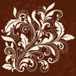 Swirly Ornamental Flourish Design - Imagen vectorial
