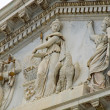Details of the United States Capitol Building in Washington DC — Stock Photo