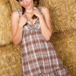 Country Girl — Stock Photo #7608213