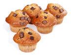 Banana chocolate muffins — Stock Photo