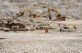 Rocky construction site — Stock Photo