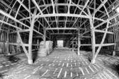 Stodola interiér — Stock fotografie