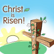 Stock Photo: Christ is risen