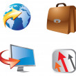 Icon set 2 — Stock Photo