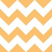 オレンジ クリーム シェブロン パターン — ストックベクタ