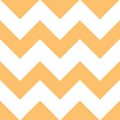 Orange Creme Chevron Pattern — Stock Vector