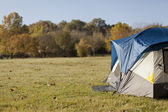 Camping in the Fall — Stock Photo