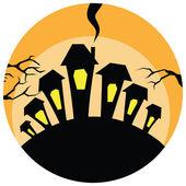 Halloweenbackground — Vetorial Stock