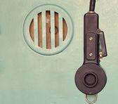 Micrófono y altavoz — Foto de Stock