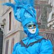 Masked person in Venice — Stock Photo #7251247
