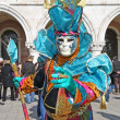 Masked person in Venice — Stock Photo