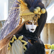 Masked person in Venice — Stock Photo #7251337