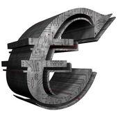 Euro - ledare — Stockfoto