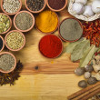Spices and herbs — Stock Photo #7236059