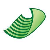 Vector dish cloth — Stock Vector