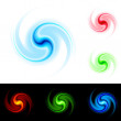 Different colors vortex — Stock Vector #7146927