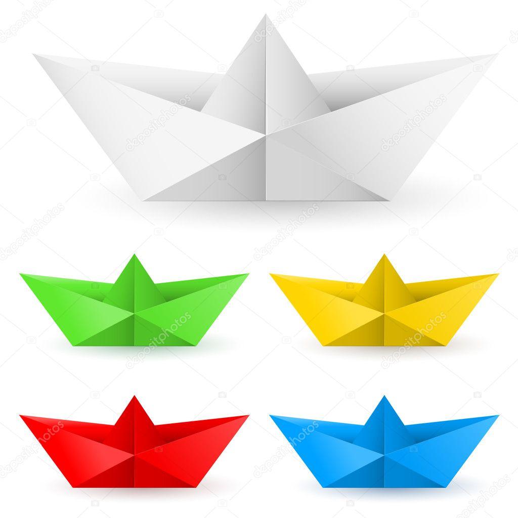 paper boat origami