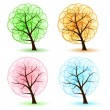 Set Tree — Stock Vector