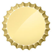 Bottle cap — Stock Vector