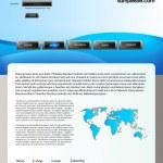 Web site design template 59 — Stock Vector #7805330
