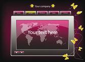 Web site design template 27 — Stock Vector