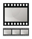 Photo film frame seamless template — Stock Vector