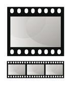 Photo film frame seamless template — Stock Vector