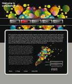 Web site design template 60 — Stock Vector