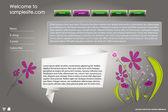 Website ontwerpsjabloon 40 — Stockvector