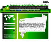 Web site design template 37 — Stock Vector