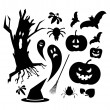 Royalty-Free Stock Vector Image: Halloween icons
