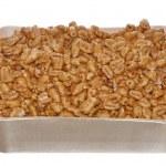 Golden honey flakes — Stock Photo