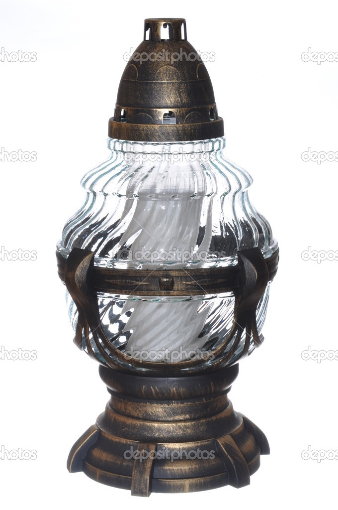 Lantern for all saints — Stock Photo #7306964