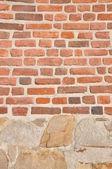 Sandstone and brick — Stock Photo