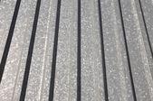 Corrugated sheet — Stock Photo