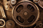 Cog and wheel details from machines — Stock fotografie