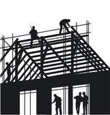 Telhados — Vetorial Stock