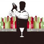Cocktail mix — Stockvektor