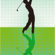 Stock Vector: Golf games