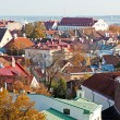 Stock Photo: View to old Tallinn, Estonia.