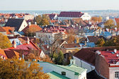View to old Tallinn, Estonia. — Stock Photo