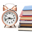 Clock and books — Stock Photo #6783951