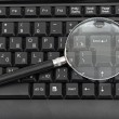 Magnifying glass, concept — Stock Photo #6936343